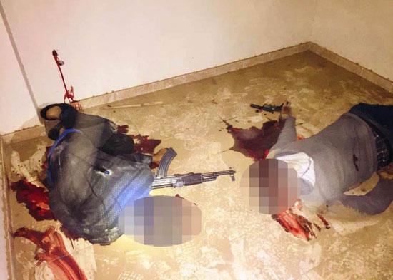 الداخلية تداهم 3 أوكار إرهابية بالجيزة وشمال سيناء وتقتل 40 تكفيريا (6)