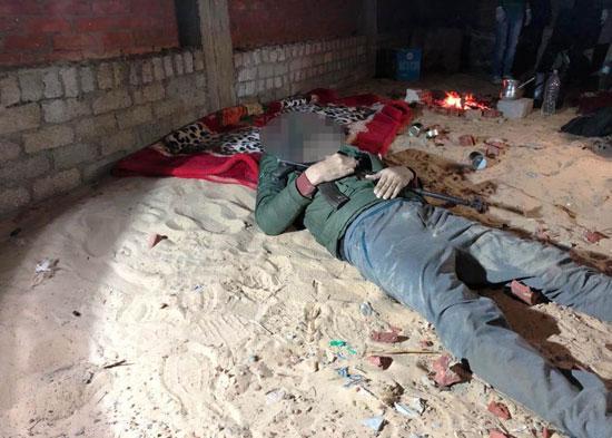 الداخلية تداهم 3 أوكار إرهابية بالجيزة وشمال سيناء وتقتل 40 تكفيريا (10)