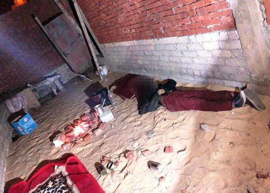 الداخلية تداهم 3 أوكار إرهابية بالجيزة وشمال سيناء وتقتل 40 تكفيريا (12)