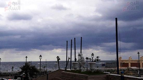 أمطار غزيرة فى الإسكندرية (10)