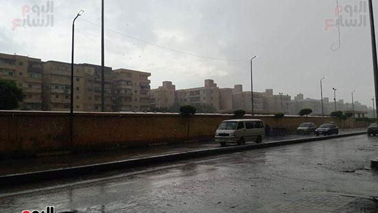 أمطار غزيرة فى الإسكندرية (2)