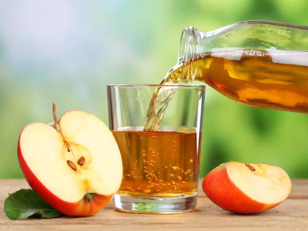 خل التفاح والكركم لعلاج التهابات الجلد