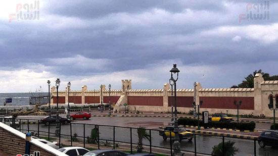 أمطار غزيرة فى الإسكندرية (5)