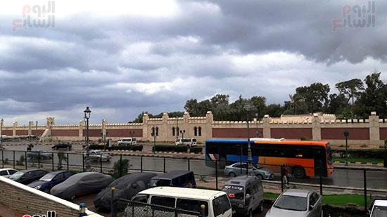 أمطار غزيرة فى الإسكندرية (6)