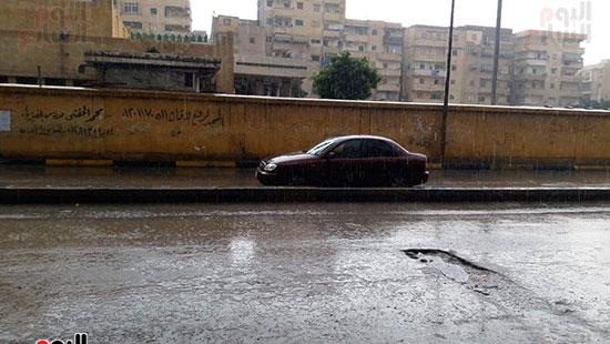 أمطار غزيرة فى الإسكندرية (1)