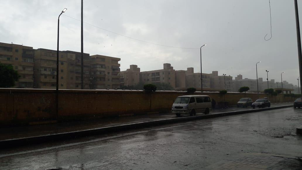 امطار غزيرة على الاسكندرية (1)