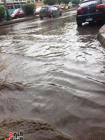 أمطار غزيرة فى الإسكندرية (25)