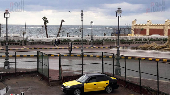 أمطار غزيرة فى الإسكندرية (7)