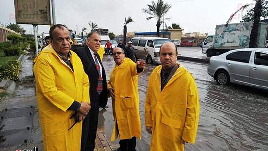 أمطار غزيرة فى الإسكندرية (12)