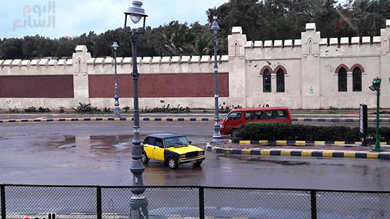 أمطار غزيرة فى الإسكندرية (8)