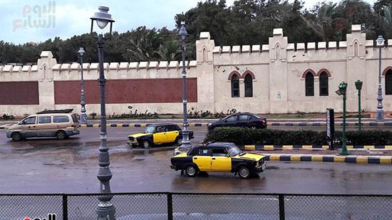 أمطار غزيرة فى الإسكندرية (9)