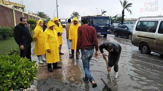 أمطار غزيرة فى الإسكندرية (21)