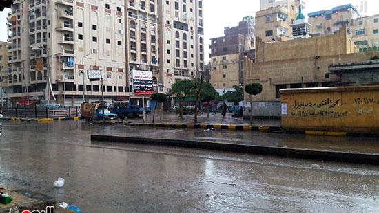 أمطار غزيرة فى الإسكندرية (4)