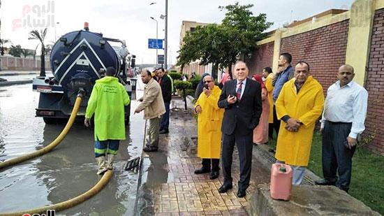 أمطار غزيرة فى الإسكندرية (18)