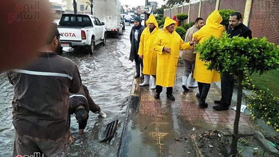 أمطار غزيرة فى الإسكندرية (26)