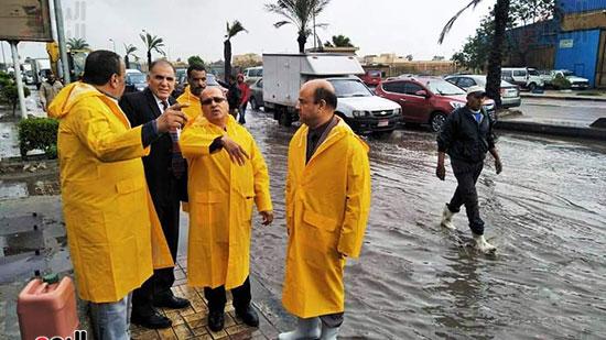 أمطار غزيرة فى الإسكندرية (22)