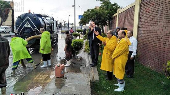 أمطار غزيرة فى الإسكندرية (15)