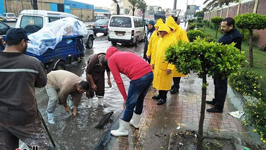 أمطار غزيرة فى الإسكندرية (17)