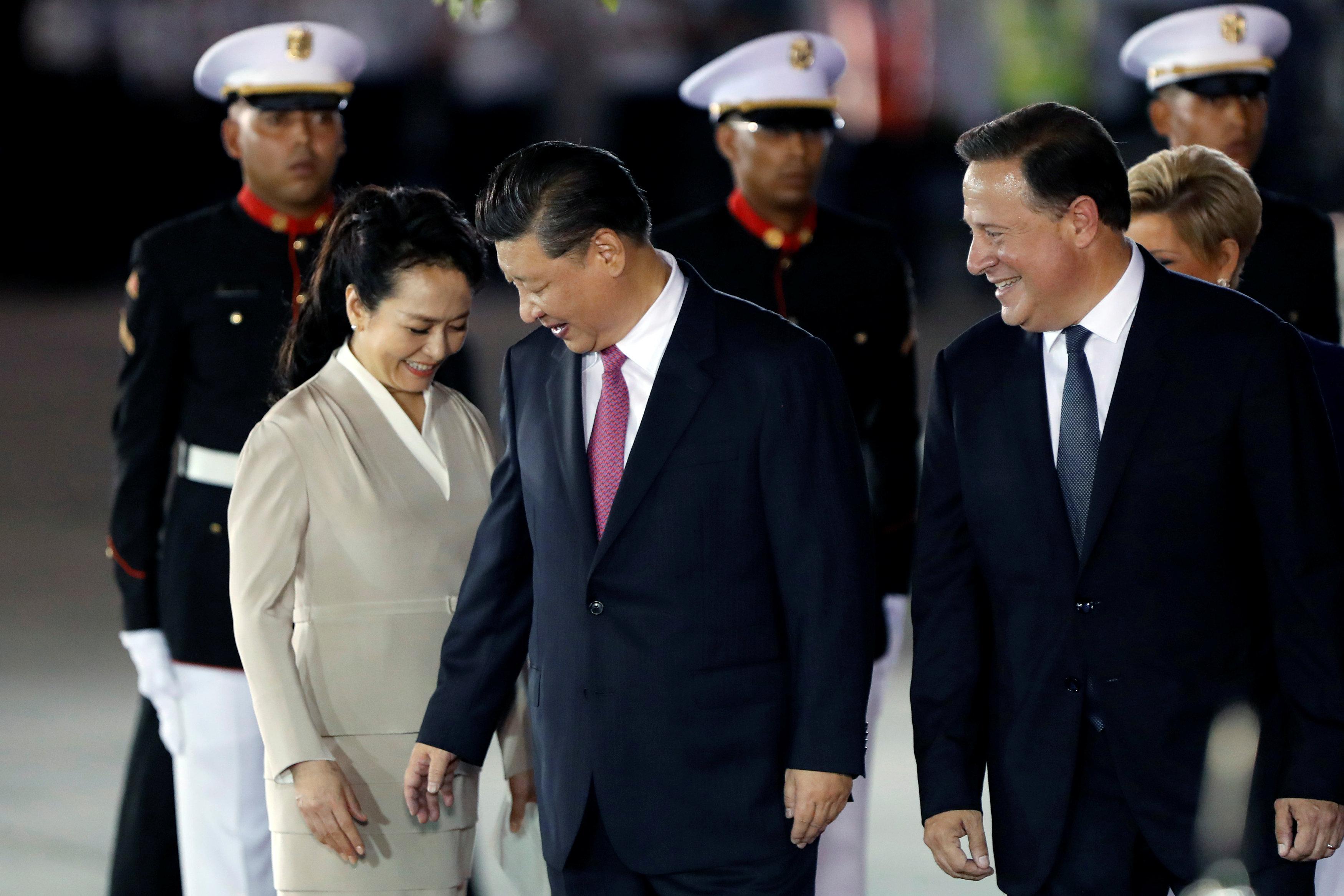 وصول الرئيس الصينى لبنما