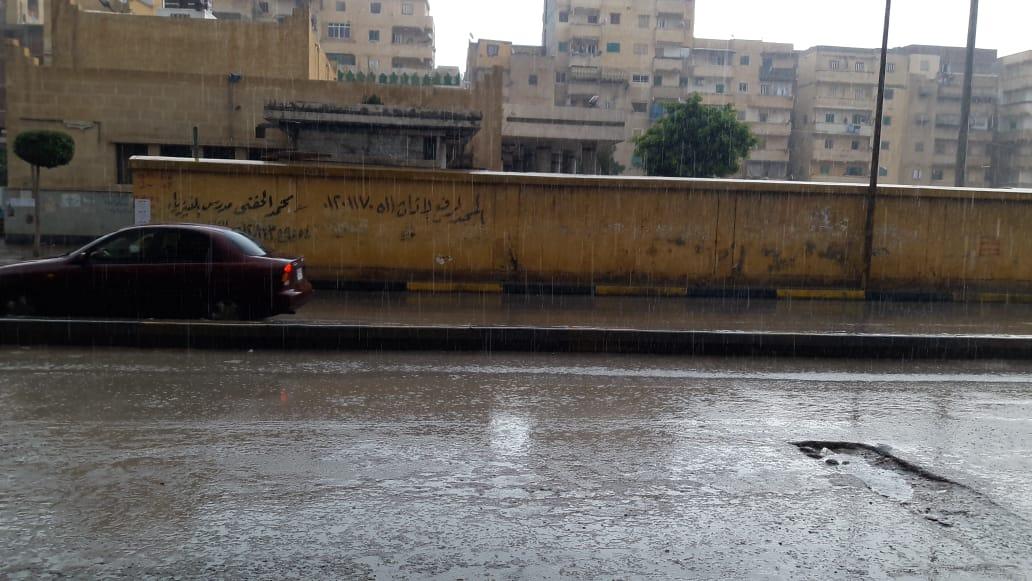 امطار غزيرة على الاسكندرية (2)
