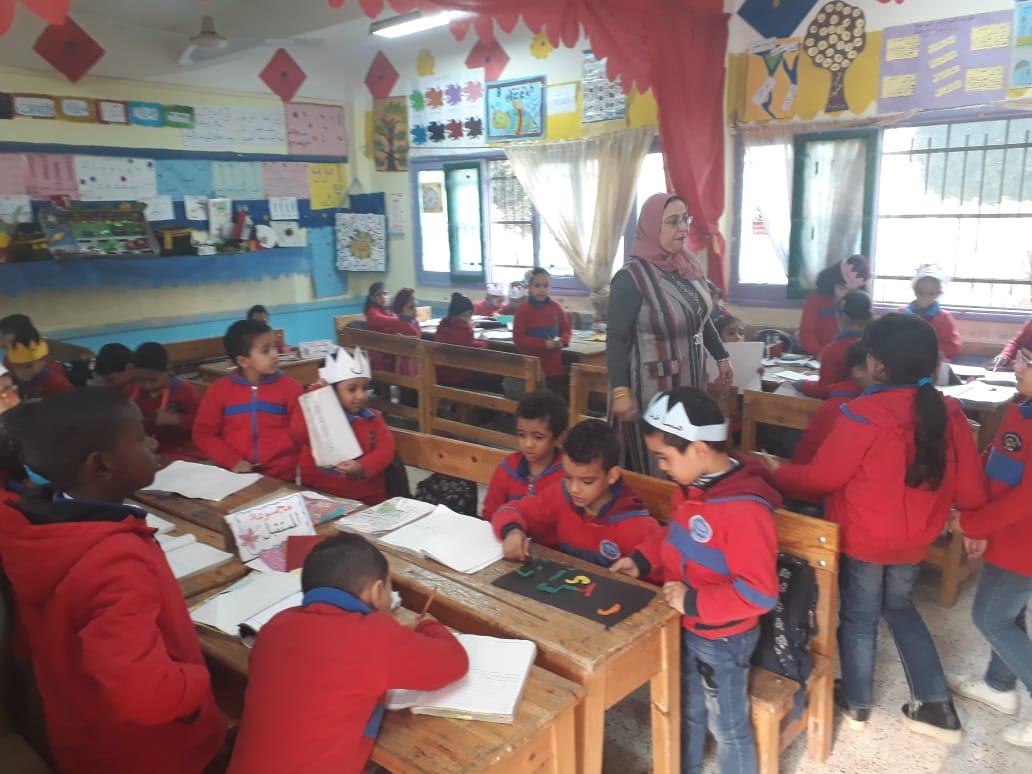 استعدادات  مدرسة الإمام الشافعى الابتدائية (7)