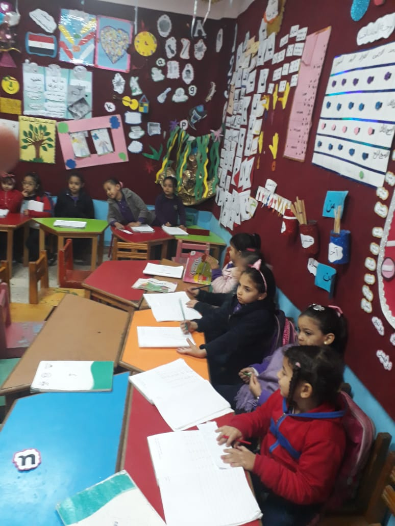 استعدادات  مدرسة الإمام الشافعى الابتدائية (2)