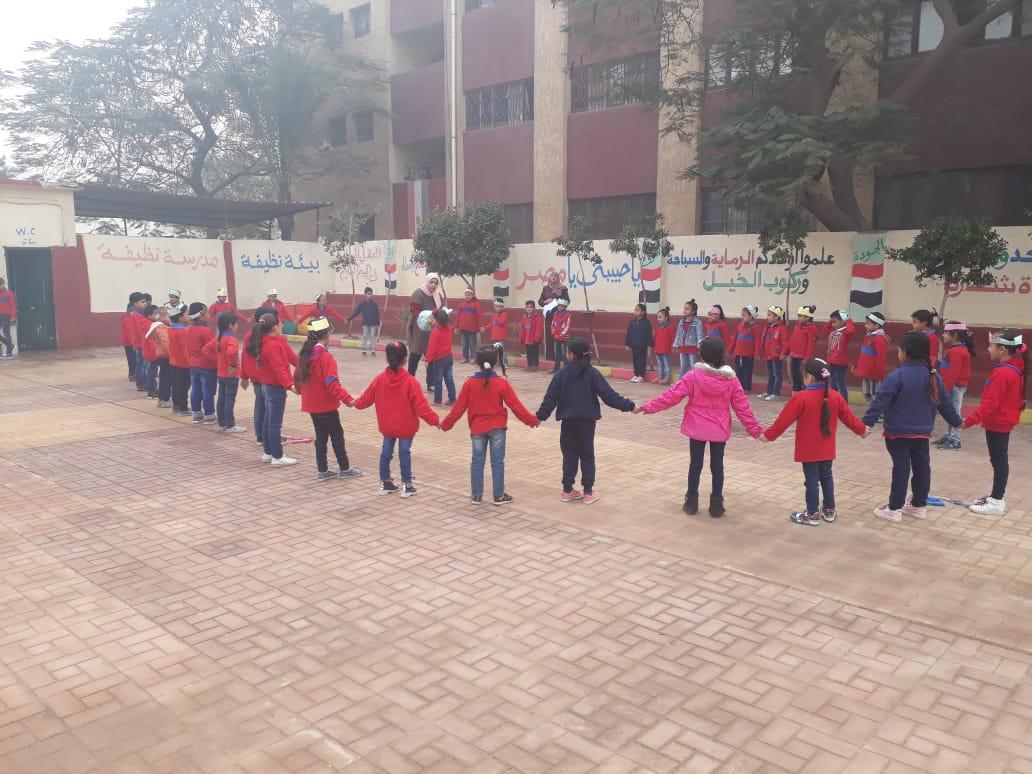 استعدادات  مدرسة الإمام الشافعى الابتدائية (1)