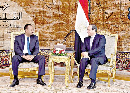 لسيد-الرئيس-ورئيس-الوزراء-الإثيوبي-يعقدان-جلسة-مباحثات-رسمي