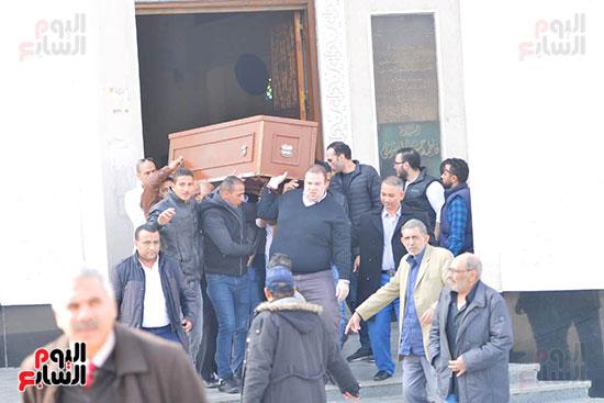 جنازة شقيق محمد فؤاد (14)