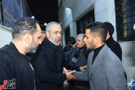 عزاء شقيق محمد فؤاد (6)