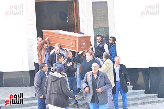 جنازة شقيق محمد فؤاد (10)