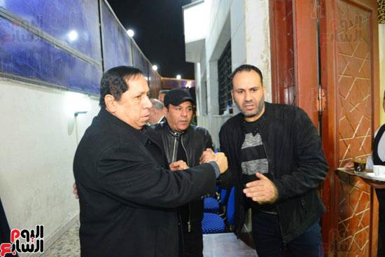 عزاء شقيق محمد فؤاد (8)