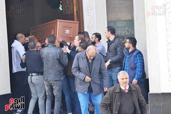 جنازة شقيق محمد فؤاد (11)