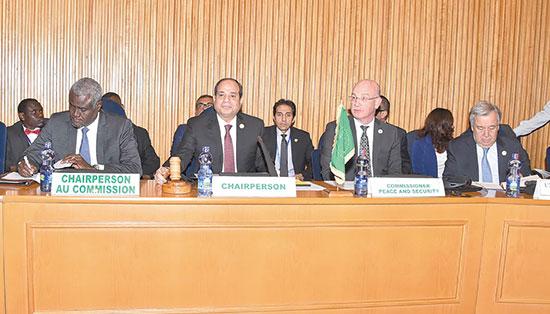 السيد-الرئيس-يقوم-برئاسة-اجتماع-مجلس-السلم-والأمن-الافريقي-(5)