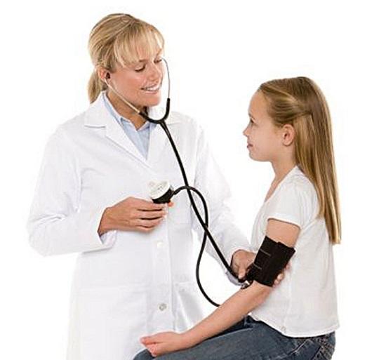 ضغط الدم عند الاطفال