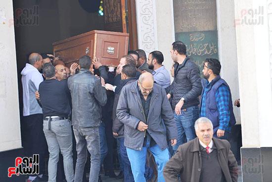 جنازة شقيق محمد فؤاد (4)