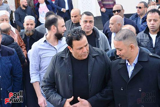 جنازة شقيق محمد فؤاد (7)