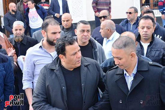 جنازة شقيق محمد فؤاد (12)