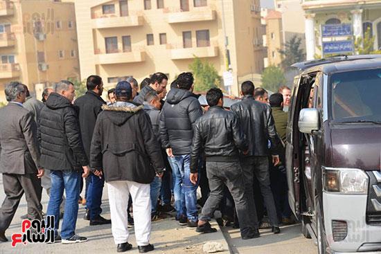 جنازة شقيق محمد فؤاد (21)