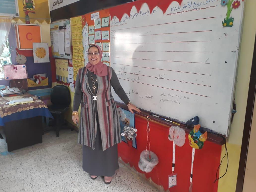 استعدادات  مدرسة الإمام الشافعى الابتدائية (8)