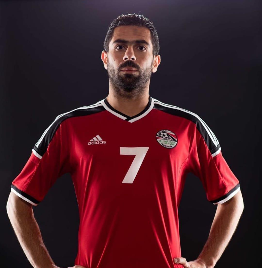 أحمد فتحى بقميص المنتخب