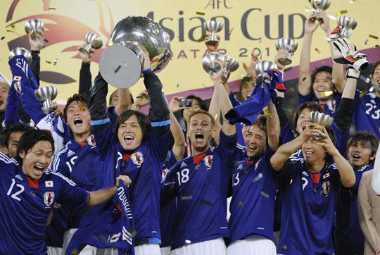 منتخب اليابان بطل آسيا 2015