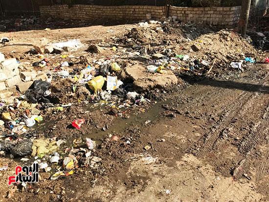 الصرف الصحى يغرق مساكن حى حسام كيلانى (5)