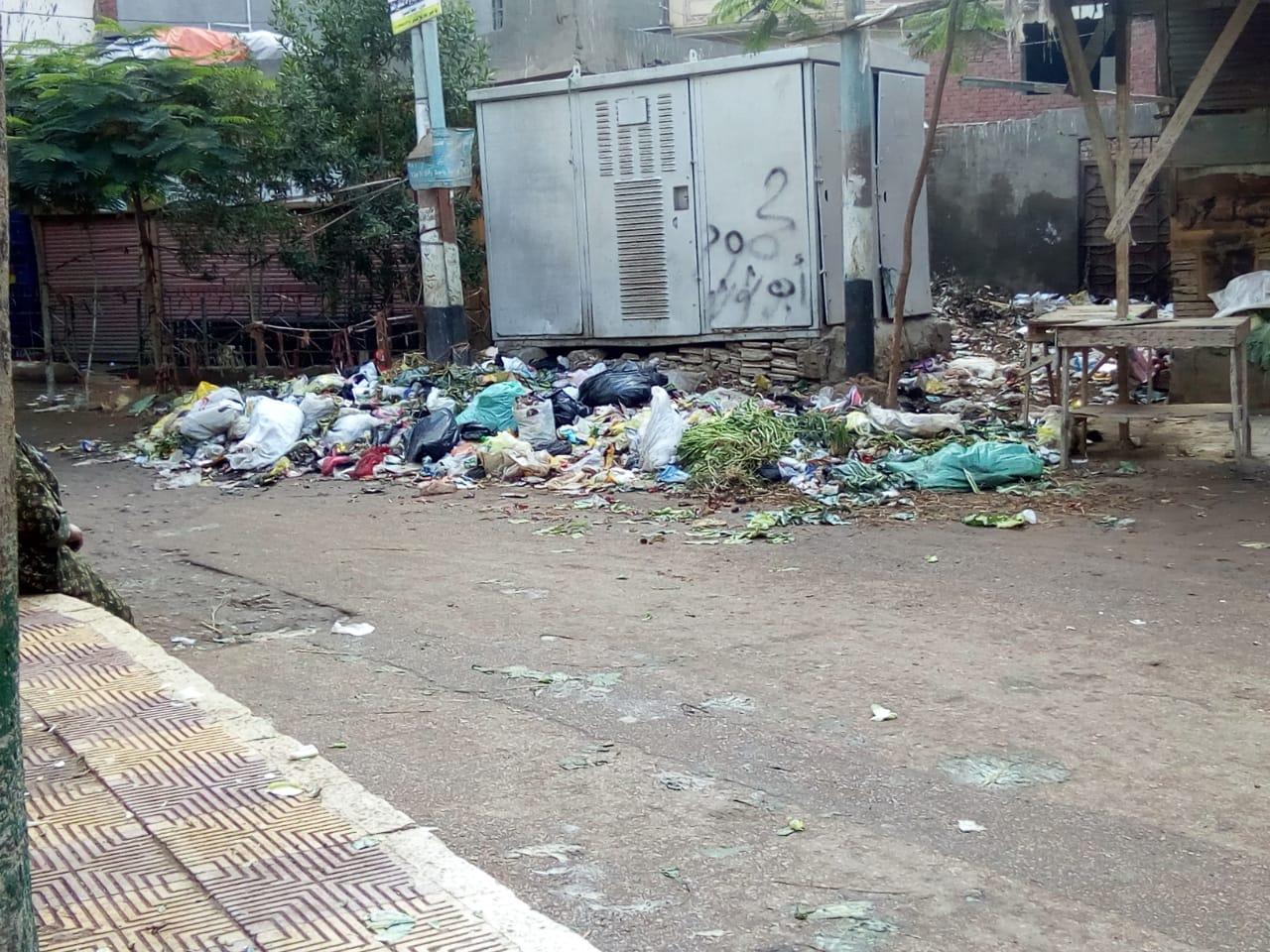 استمرار انتشار القمامة