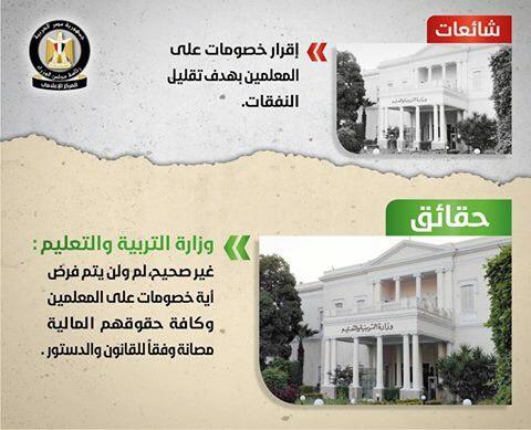 تقرير الحكومة لنفى الشائعات (4)