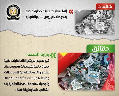 تقرير الحكومة لنفى الشائعات (3)