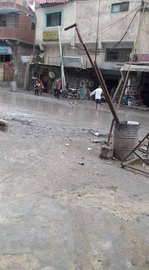 غرق شوارع منطقة خورشيد