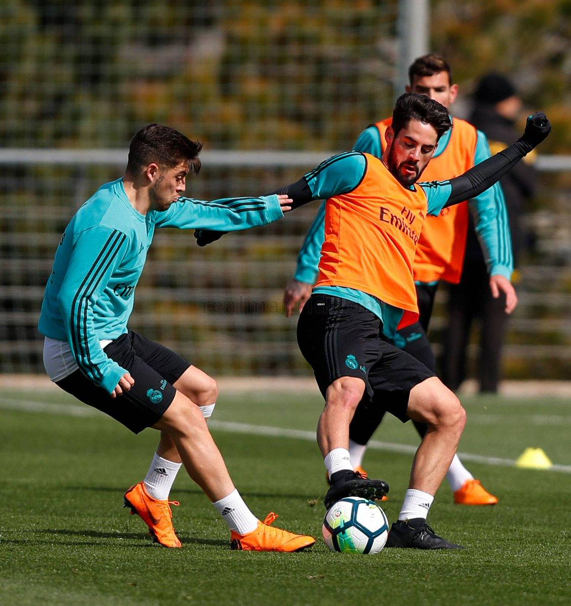 ايسكو فى تدريب ريال مدريد