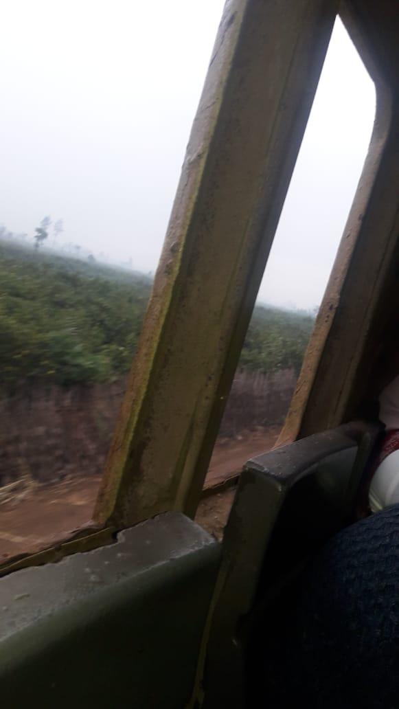 نافذه القطار