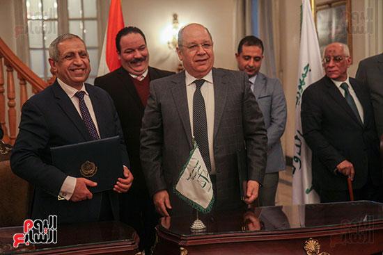 برتوكول تعاون مع البحرية العربية لتكنولوجيا المعلومات (6)